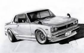 classic skyline nissan skyline c10 1970 by 118shadow118 on deviantart