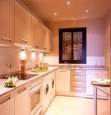 tiny cabin kitchen design metal waste bin flower pattern cabinet