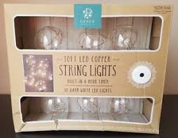 timer lights for home order home collection 10 ft led copper string lights built in 4 hour