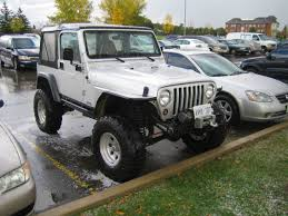 lifted jeeps lifted jeep tj at brampton courthouse 1 madwhips
