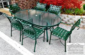 Retro Metal Patio Chairs Patio Ideas Outdoor Metal Furniture Paint Colors Outside