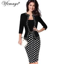 bureau d ot vfemage femmes rétro faux veste d une seule pièce polka dot