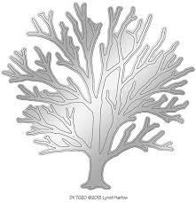 stendous leafless tree die cut dwdx7020 123stitch