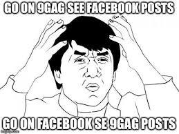 9gag Meme Maker - jackie chan wtf meme imgflip