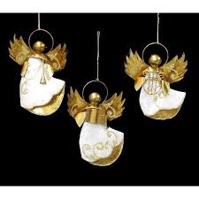 buy club pack of 12 plum and ivory capiz ornaments