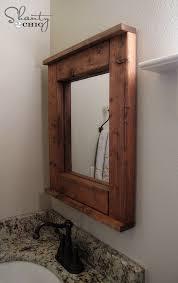 Bathroom Mirror Frames by 10 Best Pallet Mirror Frame Images On Pinterest Pallet Ideas