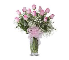 florist gainesville fl pink dozen roses arranged in gainesville fl floral expressions florist