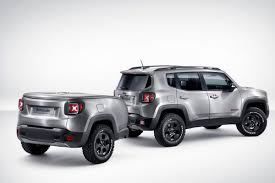 jeep renegade dark blue jeep renegade hard steel the concept car that tows itself auto