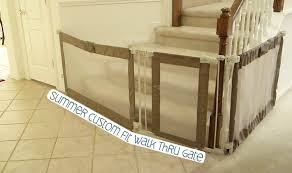 Extra Wide Pressure Fit Safety Gate Summer Custom Fit Walk Thru Gate As Seen On Our Daily Vlogs