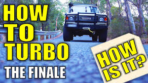 build your toyota how to turbo your 2h diesel 60 land cruiser build how is it