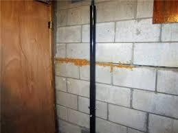 Block Basement Wall Repair by Ayers Basement Systems Foundation Repair Photo Album Repairing