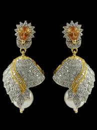 earrings image beautiful american diamond earrings b31 ea16 cilory