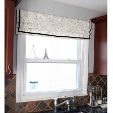 Mock Roman Shade Valance - the prettiest roman shade makeovers on our radar