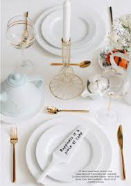 tips for setting up a pretty table for brunch