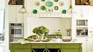 Coastal Living Kitchen Designs - using color in the kitchen coastal living