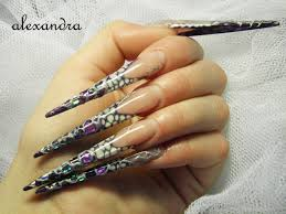 stiletto nail designs nail art