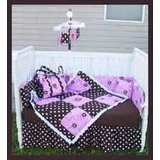 Nightmare Before Christmas Baby Crib Bedding by Pink John Deere Polka Dots Crib Set Diaper Bag U0026 Mobile Package