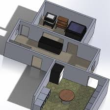 How To Make A 3d Floor Plan Designing Our 3d Printer Lab