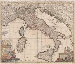 L Map Chicago by 1702 L U0027italie Distinguee Juivant L U0027estendue De Tous Les Estats