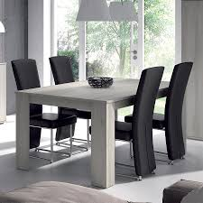 Salle A Manger Bois Exotique by Table Salle A Manger Bois Gris Table A Manger Blanche Pas Cher