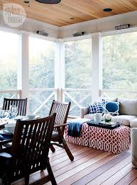 Screened In Porch Decor Screened Porch Decorating And Furniture Ideas For Screened Porch