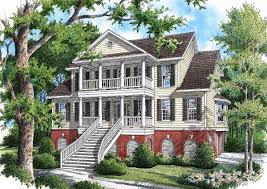 low country showcase home 9137gu architectural designs house