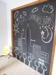 Paint Closet Doors Wispy House Diy Chalkboard Closet Doors