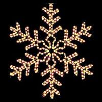 beauteous snowflake outdoor christmas decorations shining