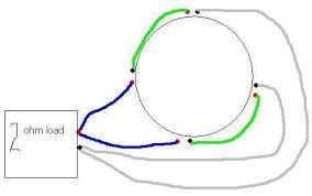 how to wire a quad 2 ohm voice coil sub ecoustics com