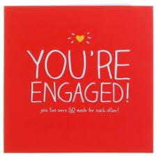 happy engagement card engagement cards cus gifts