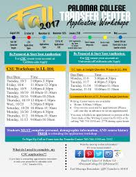 csu application workshops u2013 palomar college skillshops