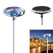 commercial solar lighting for parking lots eleding solar powered smart led round light for commercial