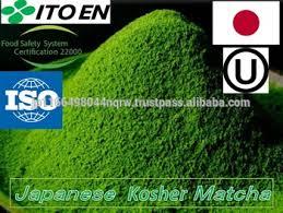 Teh Matcha kosher bersertifikat kaya nutrisi bubuk matcha teh hijau harga per