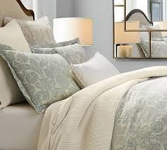 Porcelain Blue Duvet Cover Kenneth Cole Reaction Home Oxford Standard Pillow Sham In By