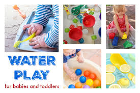 22 water play ideas for babies and toddlers babycentre
