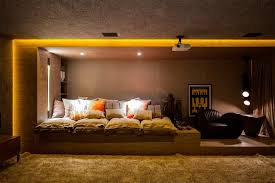 Home Theater Interiors Interior Design For Home Theatre Interior - Home theater interior design ideas
