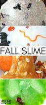 jack o lantern slime halloween sensory and science activity