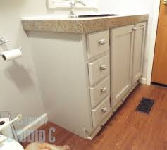 custom bathroom ideas a custom built bath vanity with a built in hometalk