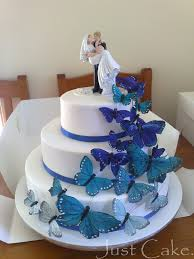 butterfly wedding cake butterflies wedding cake photo with my phone this a flickr