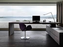 Modern Computer Desk Minimal Computer Desk Si Modern Minimalist White Paint Rotating