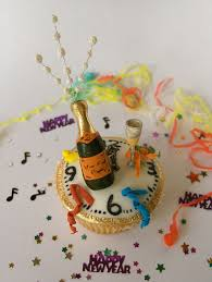 Cupcake Decorations For New Years by Cupcakelovers New Years Fancy Cupcake Decoration