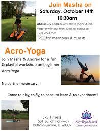 sky yoga classes sky fitness center in buffalo grove