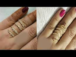stones finger rings images One gram gold spiral stone finger rings jpg