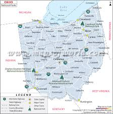Pennsylvania national parks images Ohio national parks map list of national parks in ohio jpg