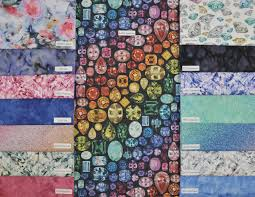 spectrum 2018 hoffman challenge fabric collection batik