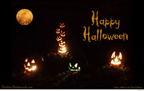 happy halloween cartoon images backgrounds