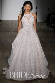 bridle dress 61 colored wedding dresses from bridal fashion week brides