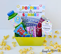 summer gift basket pop into summer gift idea and free prints hello summer i