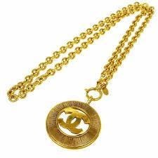 gold necklace vintage images Coin necklace vintage images jpg