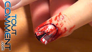 Exemple Deco Ongles by Faire Des Ongles De Zombies Youtube